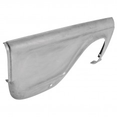Wing, rear, aluminium, RH