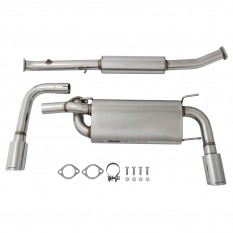Exhaust System, Cobalt, dual exit, stainless steel
