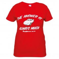 MX-5 Womens T-Shirts