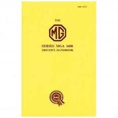 Owners Handbook, MGA 1600