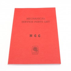 Parts Catalogue, mechanical, Factory