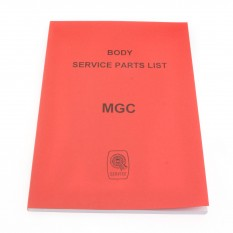 Parts Catalogue, body, Factory
