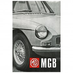 Owners Handbook, MGB 1968-69, USA