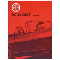 Owners Handbook, Midget 1967-74, USA
