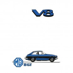 Owners Handbook, MGB GT V8