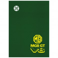 Workshop Manual, MGB GT V8