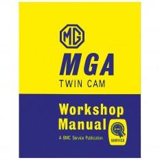 Factory Workshop Manual, MGA, Twin Cam