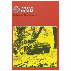 Owners Handbook, MGB US Spec