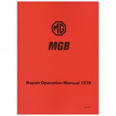 Workshop Manual, MGB 1977-On