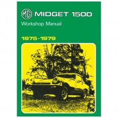 Factory Workshop Manual, MG Midget 1500