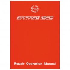 Workshop Manual, Spitfire 1500