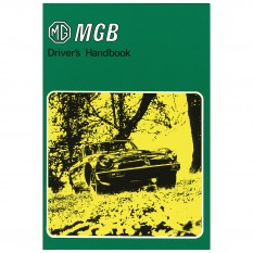 Owners Handbook, MGB 1979-On, USA