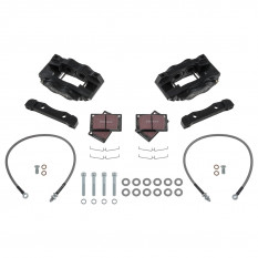 Fosseway Performance 4 Pot Front Brake Kit - XK120, XK140 & XK150