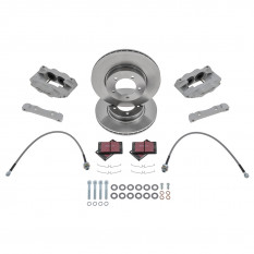 Fosseway Performance 4 Pot Front Brake Kit - S-Type Classic