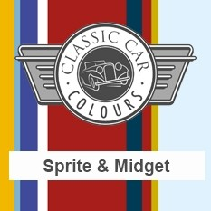 Classic Car Colours Paints - Sprite & Midget