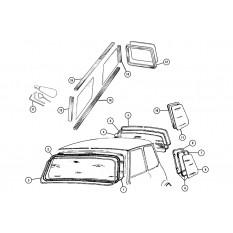 Windscreen - Mini (1959-00)