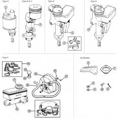 Brake Master Cylinders - Mini