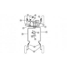 Brake Pipes: Diagonal Split System - Mini (LHD)
