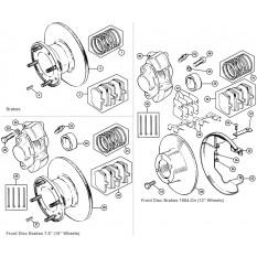 Front Brakes: Disc Type - Mini