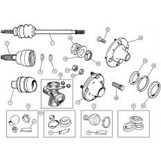 Driveshaft's & Flanges - Mini (1959-00)