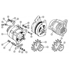 Alternator - Mini (1959-00)