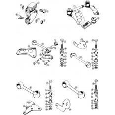 Engine Mountings & Stabilisers: All models - Mini