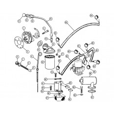 Category path 330 344 as well Mgb Wiring Diagram besides Chrysler Sebring Radiator Location moreover Fittings brown gammons moreover Oil System. on mg midget fuel filter