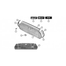 Front Grille & Fittings - Mini