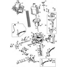 Carburettors: Single HS4 - Mini (1959-00)