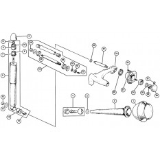 Rear Suspension: Dry - Mini (1959-00)