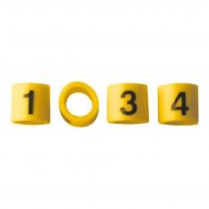 HT Lead Numbering Set, 4 cylinder