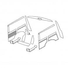 Complete Rear Trim Kits - Mini Traveller MkI (Oval Speedo)