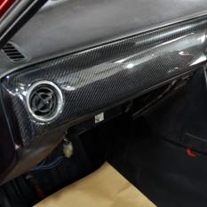 Dashboard Trim, carbon fibre, RHD, CarbonMiata