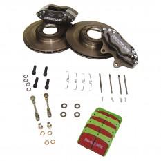 Frontline 4 Pot Brake Kit, vented discs