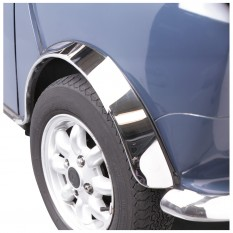 Stainless Steel Wheel Arch Cover Kit