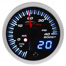 Gauge, boost, digital, 0-40psi, Depo Racing, 52mm