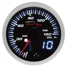 Gauge, oil pressure, digital, Depo Racing, 52mm