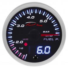 Gauge, fuel pressure, digital, Depo Racing, 52mm