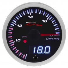 Gauge, voltage, digital, Depo Racing, 52mm