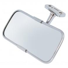Mirror, rear view, chrome