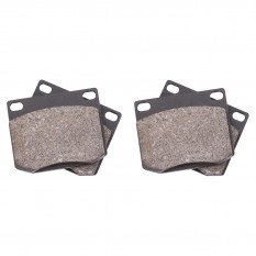 Brake Pad Set, semi-metallic, Classic Gold