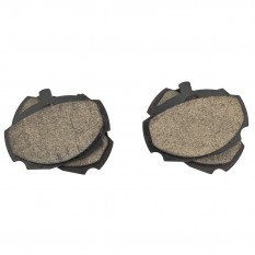 Brake Pad Set, ceramic, Classic Gold