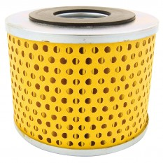 Element, oil filter, with sealing ring