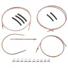 Fuel Pipe Kit, copper, SU HS6