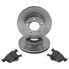 Brake Discs & Pads Kit - XJ40