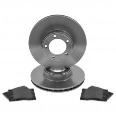Brake Discs & Pads Kit - XJ-S