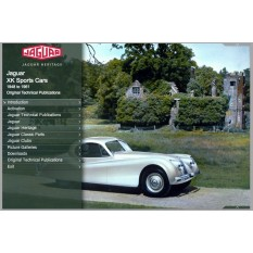 OTP Jaguar XK120, XK140, XK150, C-Type, D-Type & XK-SS (1948-1961) (USB/Online)
