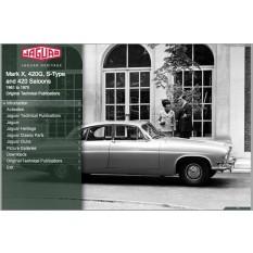 OTP Jaguar MK X, 420, S-Type (1961-1970) (USB/Online)