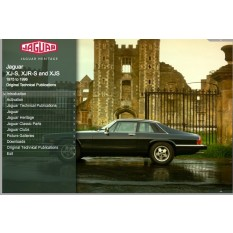 OTP Jaguar XJ-S, XJR-S & XJS (1975-1996) (USB Portable)