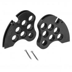 Handbrake Quadrant, dry suspension, aluminium, pair